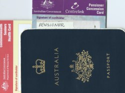 Age Pensioners permanently departing Australia